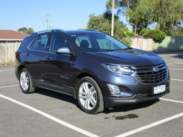 Used Holden Equinox LTZ Timboon, 2018 Holden Equinox EQ Turbo LTZ Blue Steel Auto Seq Sportshift Wagon