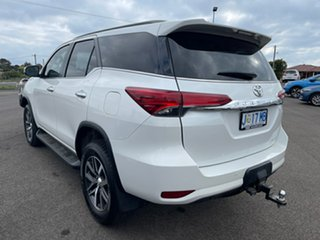 2017 Toyota Fortuner GUN156R Crusade i-MT White 6 Speed Manual Wagon.