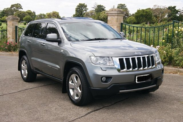 Used Jeep Grand Cherokee WK MY13 Laredo (4x4) Blair Athol, 2012 Jeep Grand Cherokee WK MY13 Laredo (4x4) Grey 5 Speed Automatic Wagon