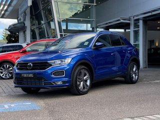 2021 Volkswagen T-ROC A1 MY21 140TSI DSG 4MOTION Sport Blue 7 Speed Sports Automatic Dual Clutch