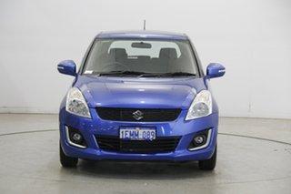 2014 Suzuki Swift FZ MY14 GL Navigator Blue 4 Speed Automatic Hatchback.