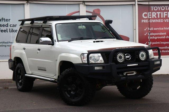 Pre-Owned Nissan Patrol Y61 GU 8 ST Ferntree Gully, 2012 Nissan Patrol Y61 GU 8 ST White 5 Speed Manual Wagon