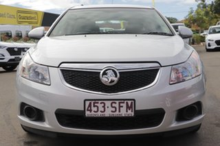2012 Holden Cruze JH Series II MY12 CD Silver 6 Speed Sports Automatic Hatchback.