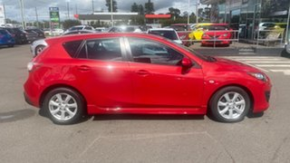 2010 Mazda 3 BL10F1 Maxx Sport Red 6 Speed Manual Hatchback.