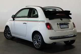 2010 Fiat 500C Series 1 White 6 Speed Manual Convertible.
