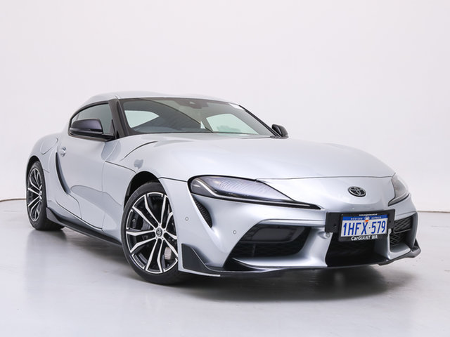 Used Toyota Supra GR DB42R GT, 2019 Toyota Supra GR DB42R GT Silver 8 Speed Automatic Coupe