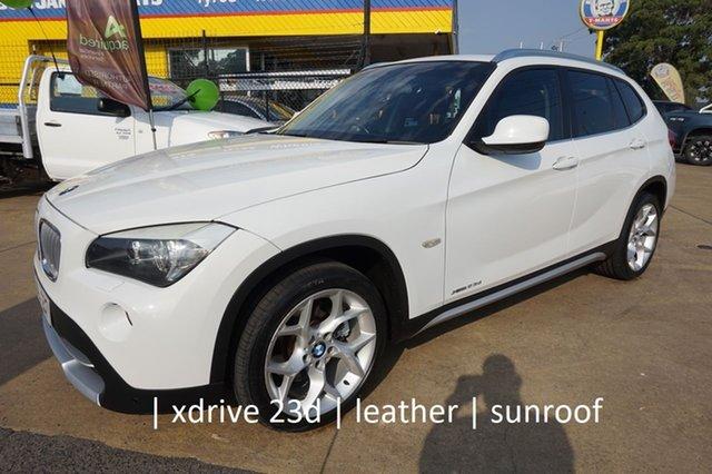 Used BMW X1 E84 xDrive23d Steptronic Dandenong, 2010 BMW X1 E84 xDrive23d Steptronic Alpine White 6 Speed Sports Automatic Wagon