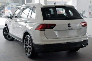 2021 Volkswagen Tiguan 5N MY21 110TSI Life DSG 2WD White 6 Speed Sports Automatic Dual Clutch Wagon