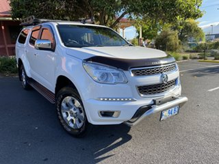 2016 Holden Colorado RG MY17 LT Pickup Crew Cab Summit White 6 Speed Sports Automatic Utility.