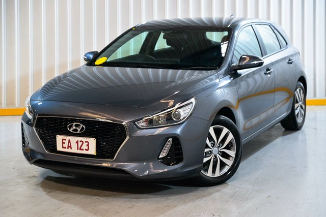 Used Hyundai i30 PD2 MY19 Active Hendra, 2019 Hyundai i30 PD2 MY19 Active Grey 6 Speed Sports Automatic Hatchback