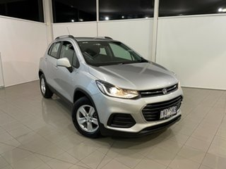 2018 Holden Trax TJ MY18 LS Silver, Chrome 6 Speed Automatic Wagon.