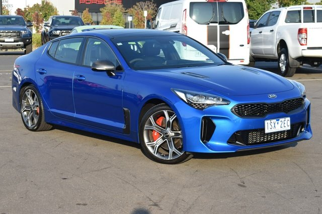 Used Kia Stinger CK MY20 GT Fastback Essendon Fields, 2020 Kia Stinger CK MY20 GT Fastback Blue 8 Speed Sports Automatic Sedan