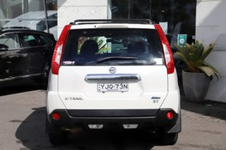 2010 Nissan X-Trail T31 MY10 ST White 1 Speed Constant Variable Wagon