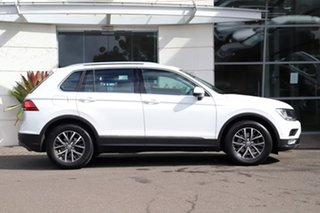 2017 Volkswagen Tiguan 5N MY17 110TSI DSG 2WD Comfortline White 6 Speed Sports Automatic Dual Clutch.