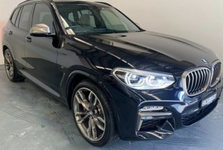 2018 BMW X3 G01 M40i Steptronic Carbon Black Metallic 8 Speed Automatic Wagon.