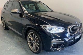 2018 BMW X3 G01 M40i Steptronic Carbon Black Metallic 8 Speed Automatic Wagon.
