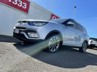 2019 Ssangyong Tivoli XLV X100 Ultimate AWD Silver 6 Speed Sports Automatic Wagon.