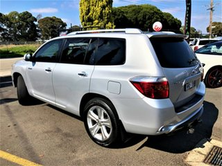 2008 Toyota Kluger GSU40R Grande 2WD Silver 5 Speed Sports Automatic Wagon