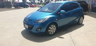 2013 Mazda 2 DE10Y2 MY13 Maxx Blue 4 Speed Automatic Hatchback