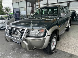 2000 Nissan Patrol GU TI (4x4) Green 4 Speed Automatic 4x4 Wagon
