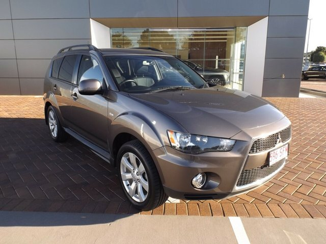 Used Mitsubishi Outlander ZH MY11 LS Toowoomba, 2011 Mitsubishi Outlander ZH MY11 LS Brown 6 Speed Constant Variable Wagon