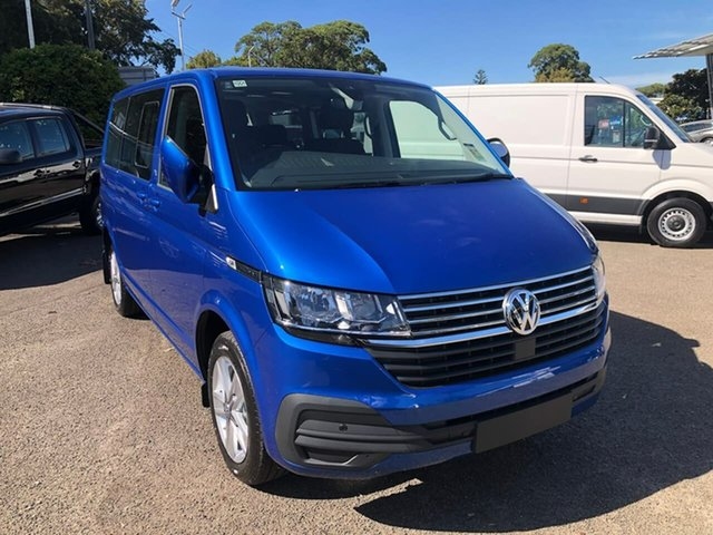 Demo Volkswagen Multivan T6.1 MY21 TDI340 SWB DSG Comfortline Premium Botany, 2020 Volkswagen Multivan T6.1 MY21 TDI340 SWB DSG Comfortline Premium Blue 7 Speed
