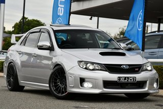 2010 Subaru Impreza G3 MY11 WRX STi AWD Spec R Spark Silver 6 Speed Manual Sedan.