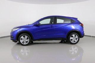 2020 Honda HR-V MY21 VTi-S Brilliant Blue Continuous Variable Wagon