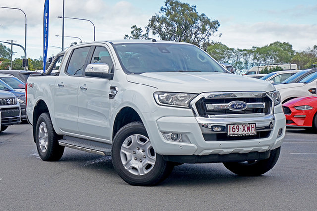 Used Ford Ranger PX MkII 2018.00MY XLT Double Cab Ebbw Vale, 2018 Ford Ranger PX MkII 2018.00MY XLT Double Cab 6 Speed Manual Utility