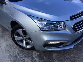2016 Holden Cruze JH Series II MY16 Z-Series Silver 6 Speed Sports Automatic Sedan.