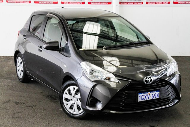Pre-Owned Toyota Yaris NCP130R Ascent Rockingham, 2019 Toyota Yaris NCP130R Ascent Graphite 4 Speed Automatic Hatchback