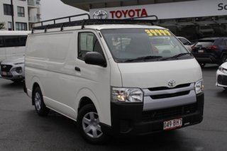 2015 Toyota HiAce TRH201R LWB Vanilla White 6 Speed Automatic Van.