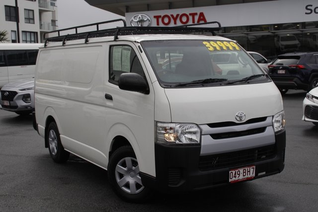 Pre-Owned Toyota HiAce TRH201R LWB Upper Mount Gravatt, 2015 Toyota HiAce TRH201R LWB Vanilla White 6 Speed Automatic Van