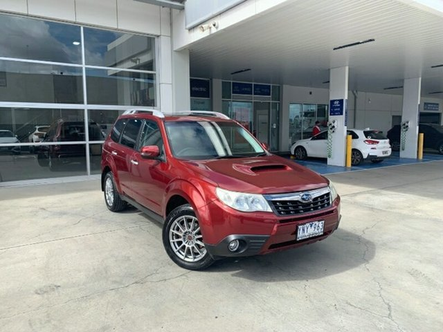 Used Subaru Forester S3 MY11 S-Edition AWD Melton, 2011 Subaru Forester S3 MY11 S-Edition AWD Maroon 5 Speed Sports Automatic Wagon