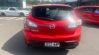 2010 Mazda 3 BL10F1 Maxx Sport Red 6 Speed Manual Hatchback