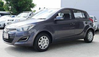 2014 Hyundai i20 PB MY15 Active Grey 4 Speed Automatic Hatchback.