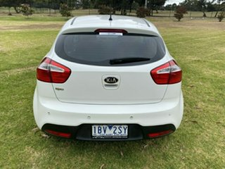 2014 Kia Rio UB MY15 S White 4 Speed Sports Automatic Hatchback