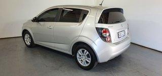 2012 Holden Barina TM MY13 CD Silver 5 Speed Manual Hatchback