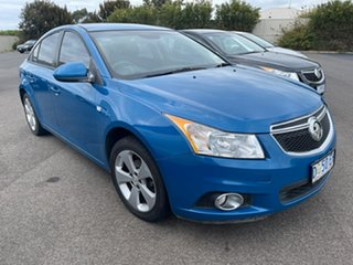 2013 Holden Cruze JH Series II MY14 Equipe Perfect Blue 6 Speed Sports Automatic Sedan.