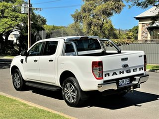 2020 Ford Ranger PX MkIII 2020.75MY XLT Arctic White/penta F 10 Speed Sports Automatic