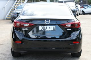 2015 Mazda 3 BM MY15 SP25 Astina Crystal Black Pearl 6 Speed Automatic Sedan
