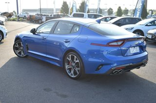 2020 Kia Stinger CK MY20 GT Fastback Blue 8 Speed Sports Automatic Sedan.
