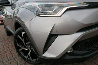 2018 Toyota C-HR NGX50R Koba S-CVT AWD Grey 7 Speed Constant Variable SUV.