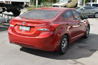 2011 Hyundai Elantra HD MY10 SX Red 4 Speed Automatic Sedan.