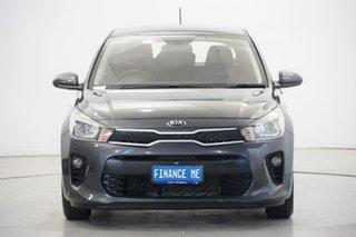 2019 Kia Rio YB MY19 S Platinum Graphite 4 Speed Sports Automatic Hatchback.