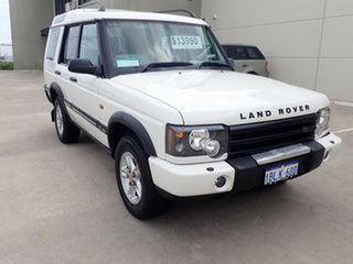 2003 Land Rover Discovery Series II SE (4x4) White 4 Speed Automatic Wagon.