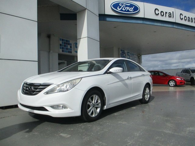 Used Hyundai i45 YF MY11 Active Bundaberg, 2011 Hyundai i45 YF MY11 Active White 6 Speed Automatic Sedan