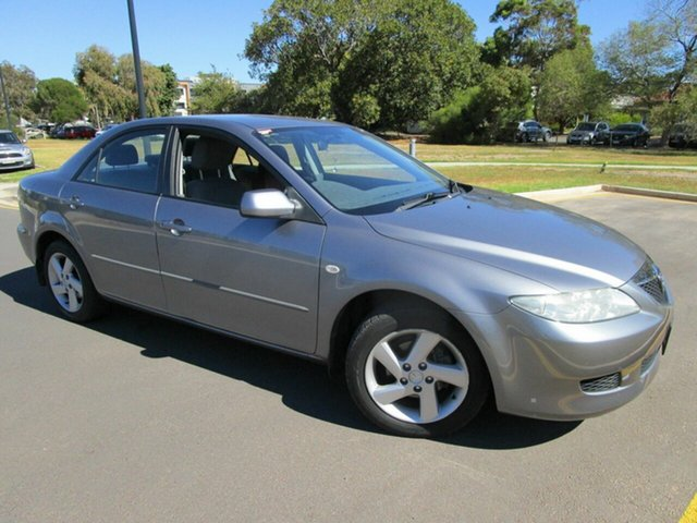 Used Mazda 6 GG Classic Glenelg, 2004 Mazda 6 GG Classic Grey 4 Speed Auto Activematic Sedan