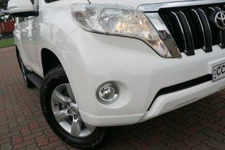2017 Toyota Landcruiser Prado GDJ150R GXL White 6 Speed Sports Automatic SUV.