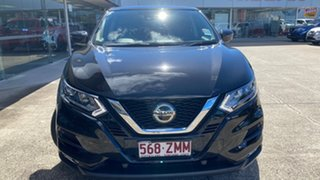 2019 Nissan Qashqai J11 Series 3 MY20 ST+ X-tronic Pearl Black 1 Speed Constant Variable Wagon.